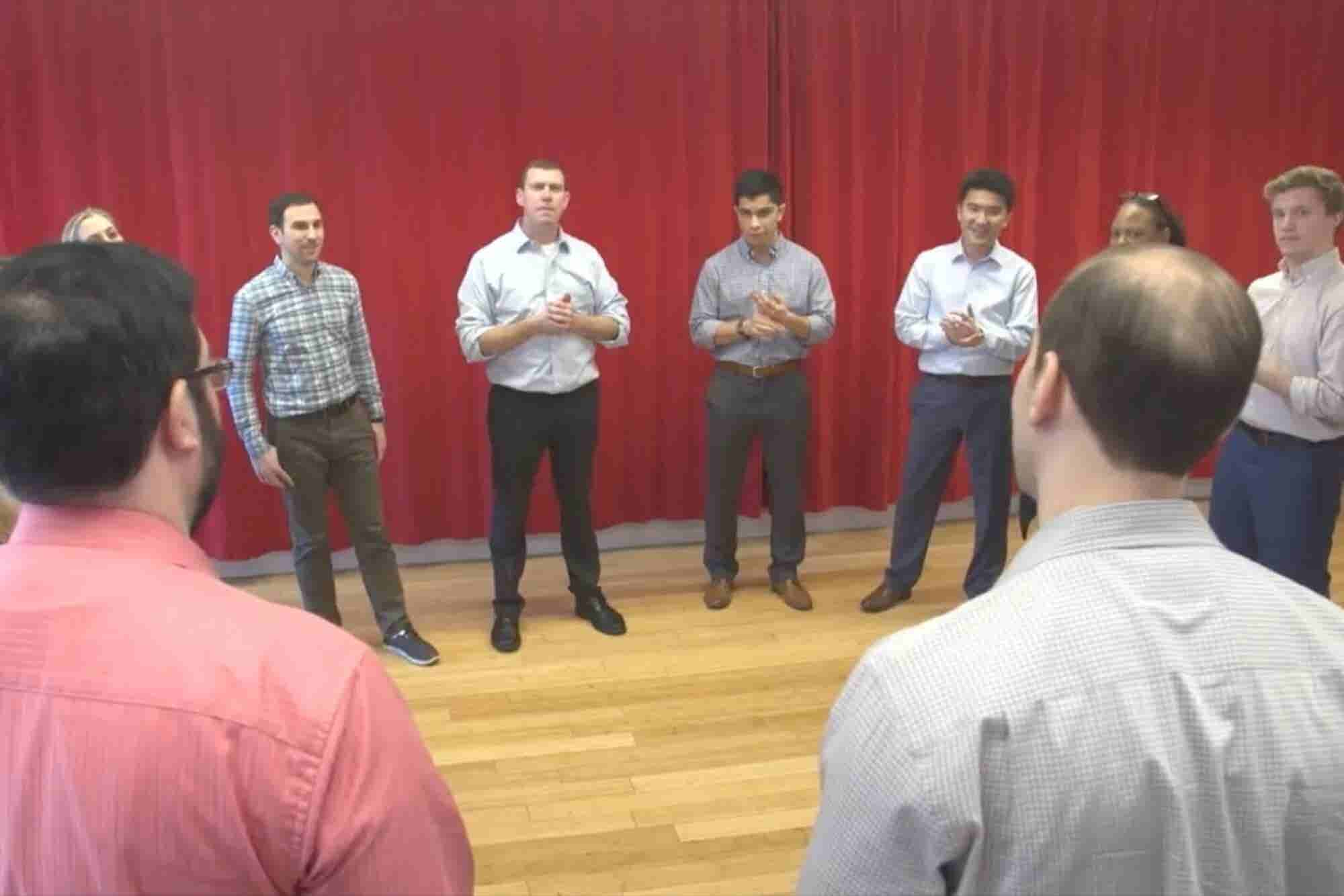 I Took an Improv Training Course -- and It Changed How I Brainstorm