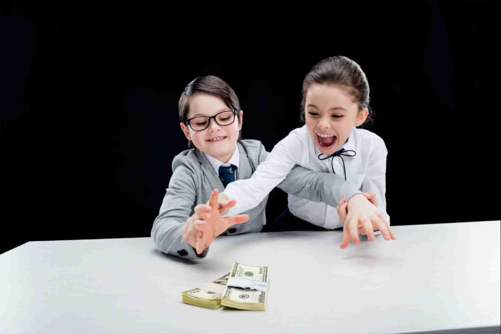 5 consejos financieros para niños
