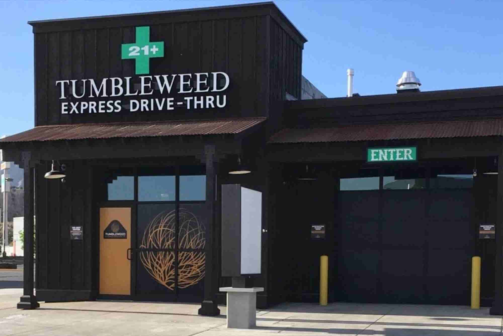 Nation's First Cannabis Drive-Through Opens In Colorado as Cannabis Sa...