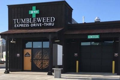 Nation's First Cannabis Drive-Through Opens In Colorado as Cannabis Sa...