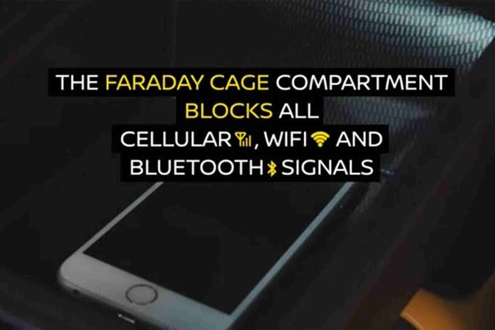 Nissan Fights Distracted Driving With Faraday Cage Armrest