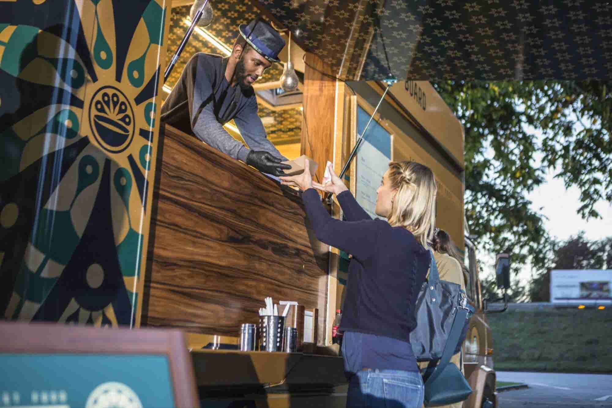 Why Food Truck Businesses Are Revving Up (Infographic)