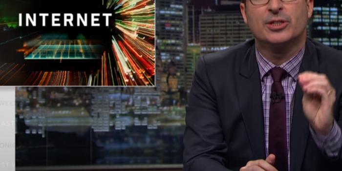 John Oliver defiende la neutralidad de la red… otra vez