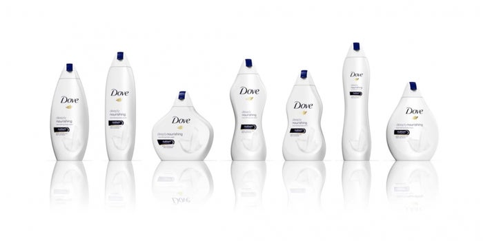 Dove Has Introduced Soap Bottles for Different Body Types