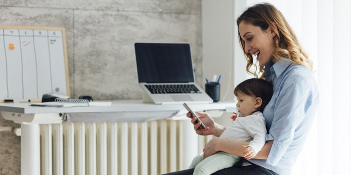 For Mother's Day, Check Out These Statistics on Mom Entrepreneurs (Infographic)