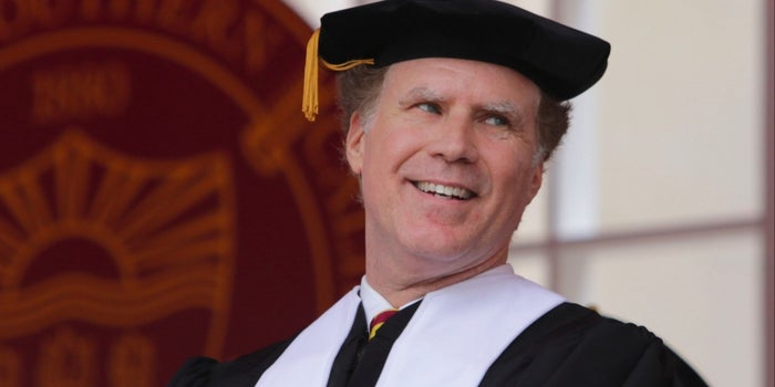 Watch Will Ferrell Joke, Sing and Inspire During His 2017