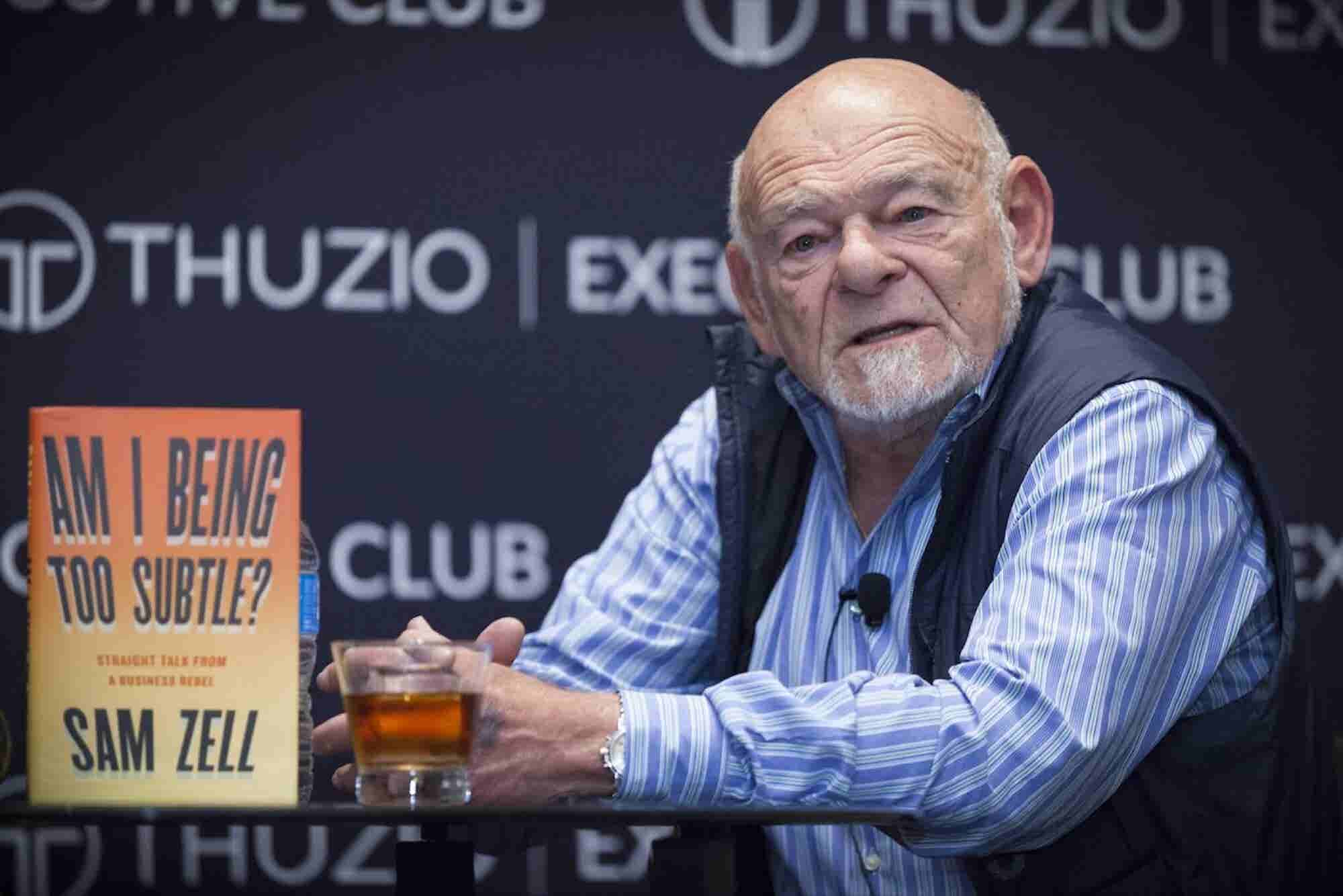 Billionaire Real Estate Investor and Entrepreneur Sam Zell Talks About...