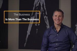 Running a Business Is About More Than Just Business