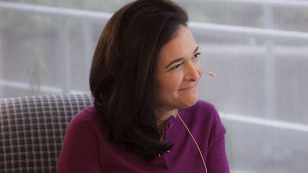 Sheryl Sandberg Shares What She Learned About Growing Teams For