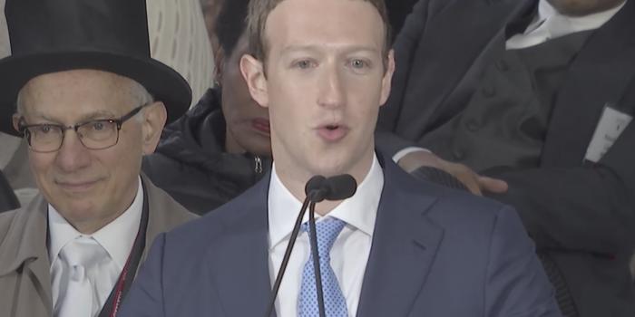 Este es el discurso que dio Mark Zuckerberg en Harvard