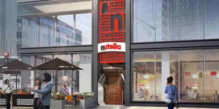 Nutella abre su primer restaurante para deleitar a sus fanáticos