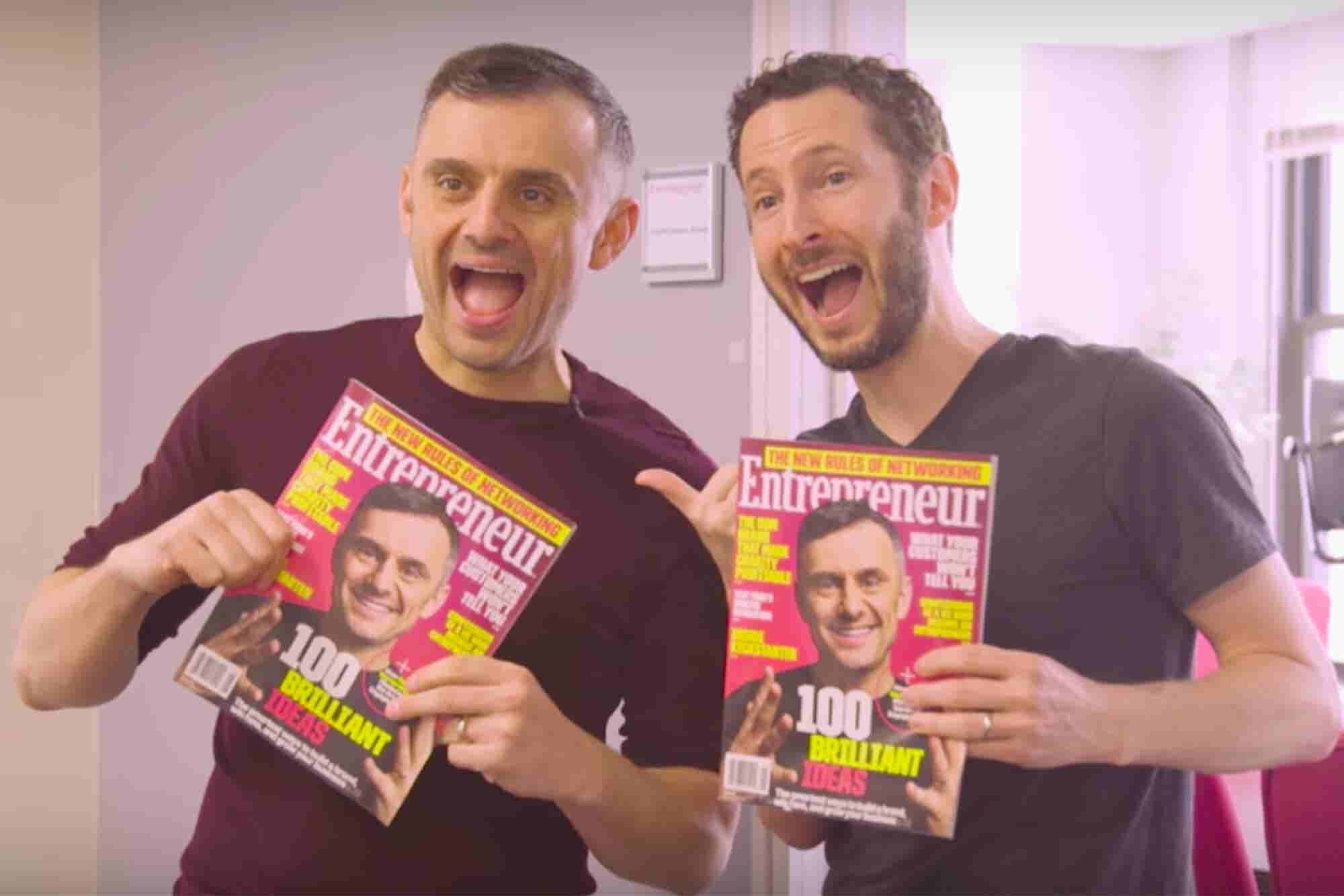Watch Gary Vaynerchuk Drop In -- and Drop Knowledge -- at Entrepreneur