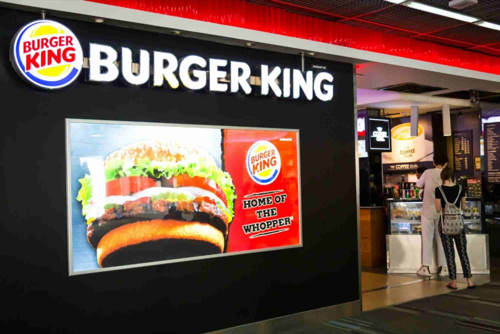 La campaña de Burger King que hizo enojar a un rey de verdad