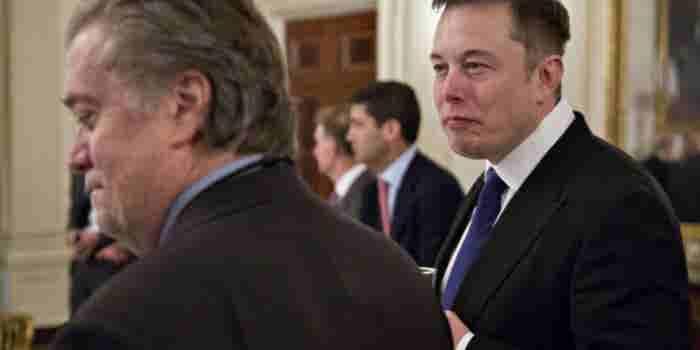 """""""Me voy del Consejo de Trump"""": Elon Musk"""