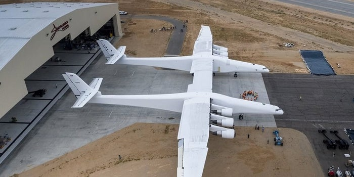 Get a First Look at the World's Largest Airplane