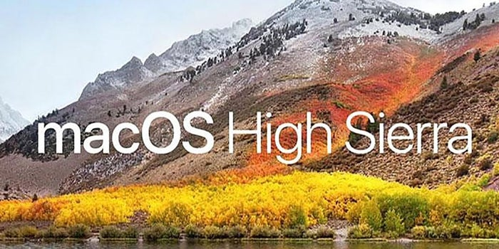 Apple Touts Speed and Privacy Upgrades in macOS High Sierra