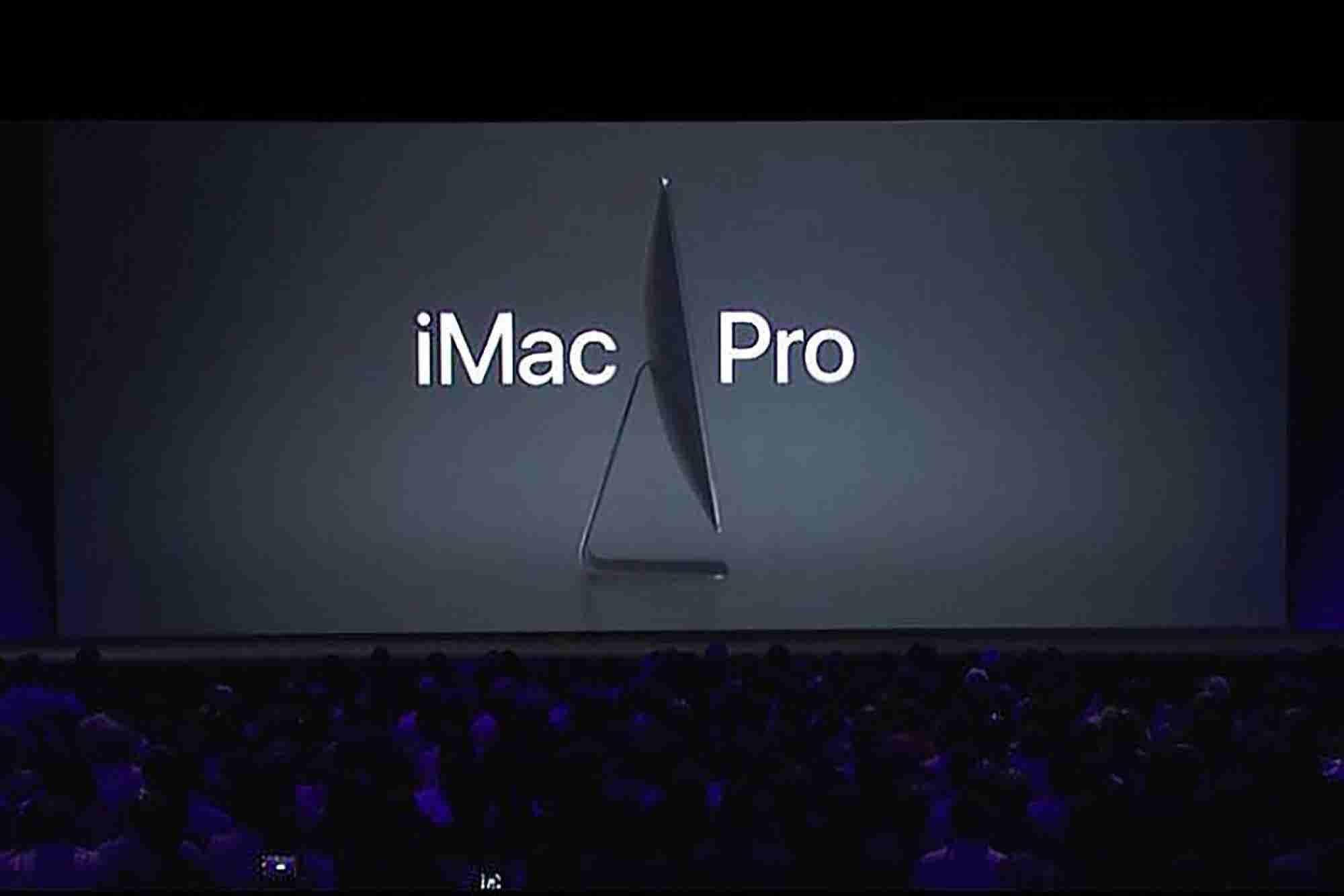 Apple Teases Behemoth iMac Pro and New MacBooks