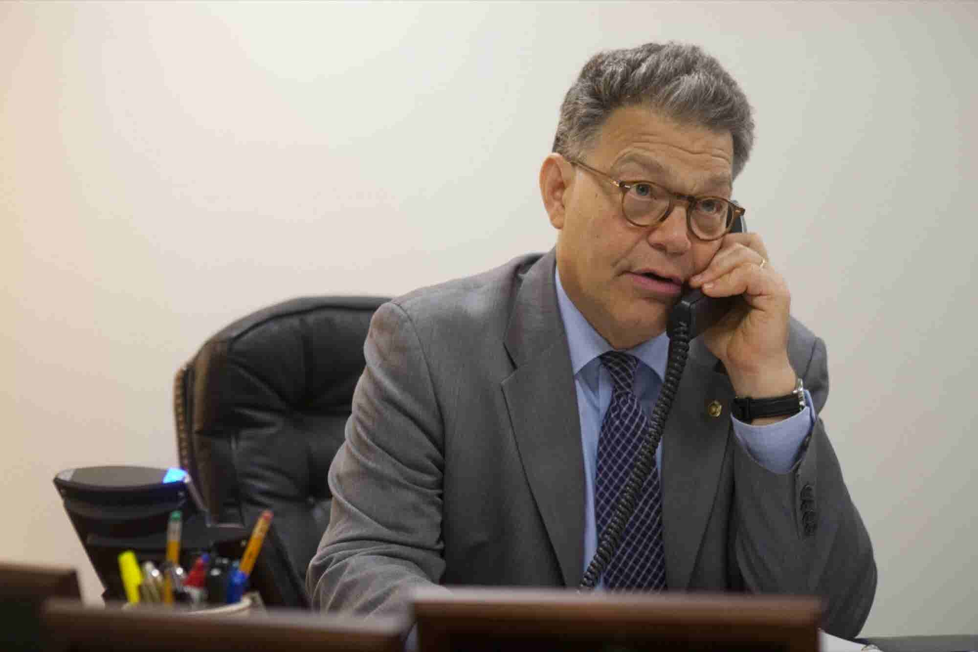 Why Does Senator Al Franken Make Cold Calls?