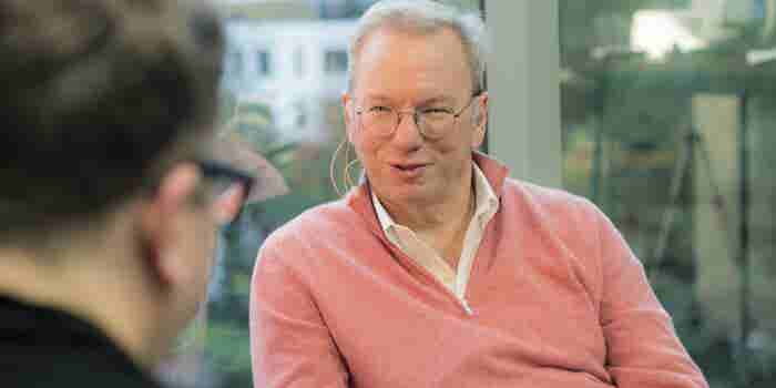 Google's Eric Schmidt: To Maximize Persistence, Do This