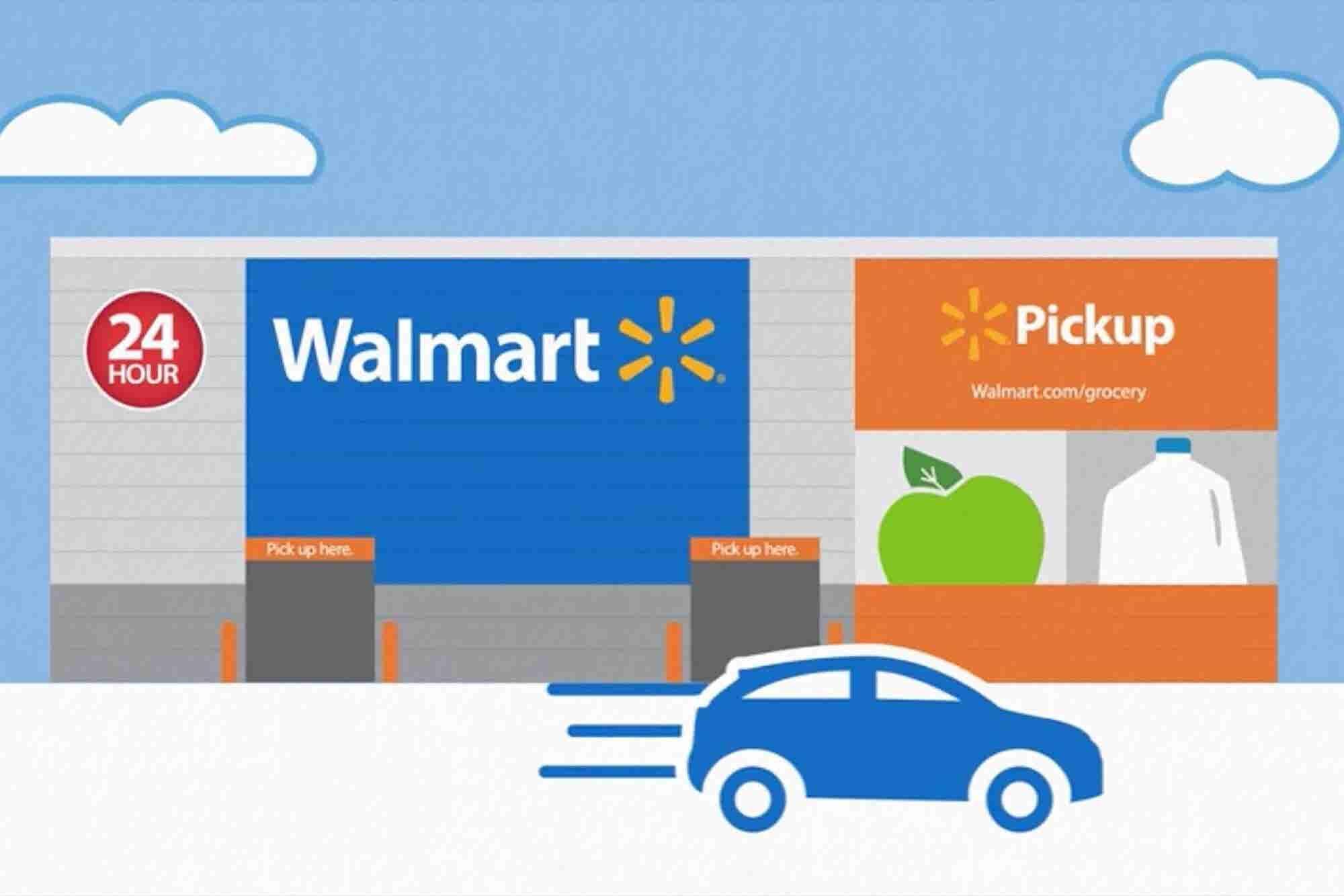 Walmart Opens 24-Hour Grocery Pickup Kiosk