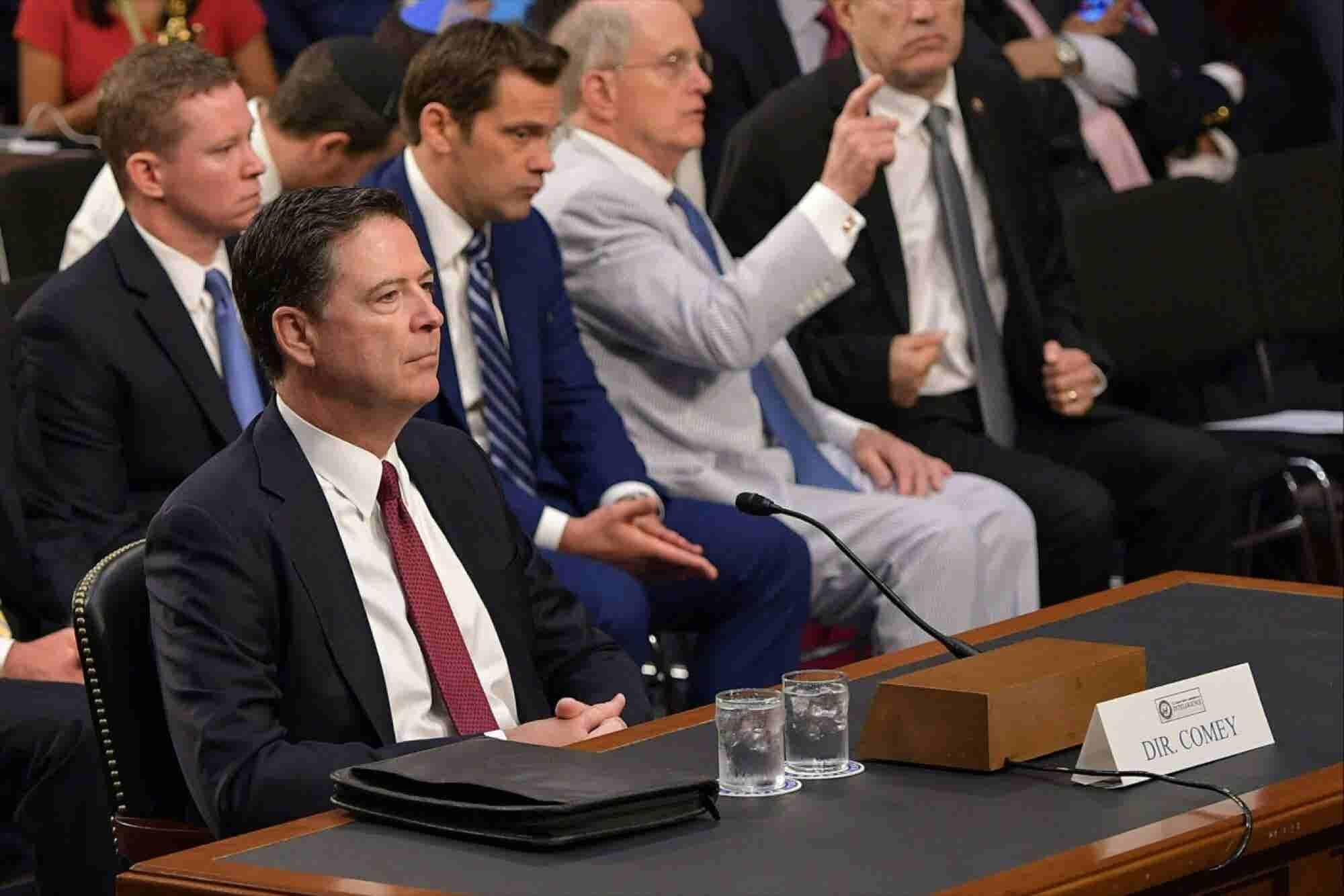 How to Watch James Comey's Testimony Before Congress Online