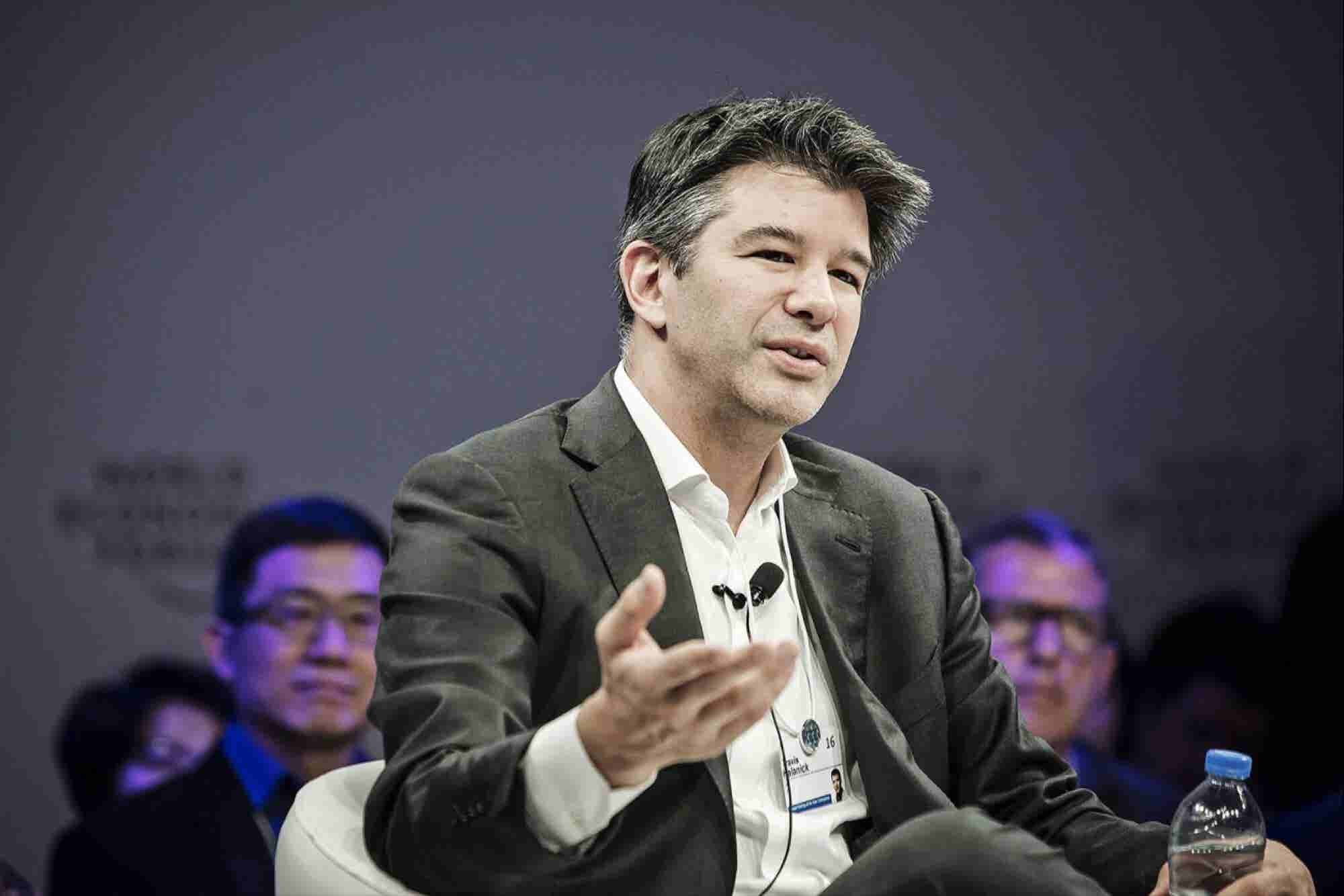 A 2013 Letter From Uber's Travis Kalanick Lays Out Sex Rules for Employees at Company Party