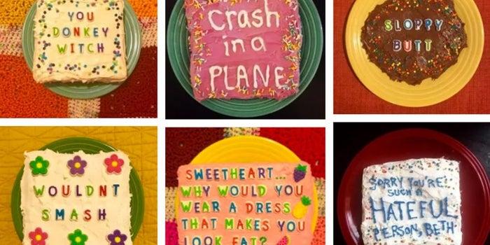 Troll Cake Makes Your Internet Nemesis Eat Their Words