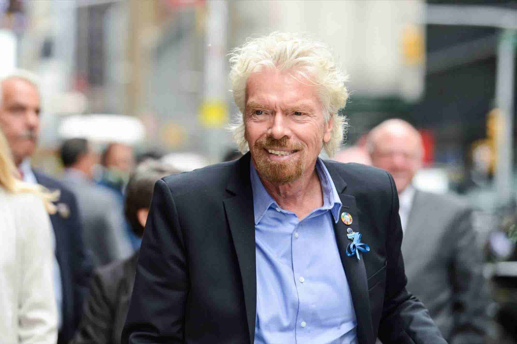 How Richard Branson Built His $5 Billion Fortune