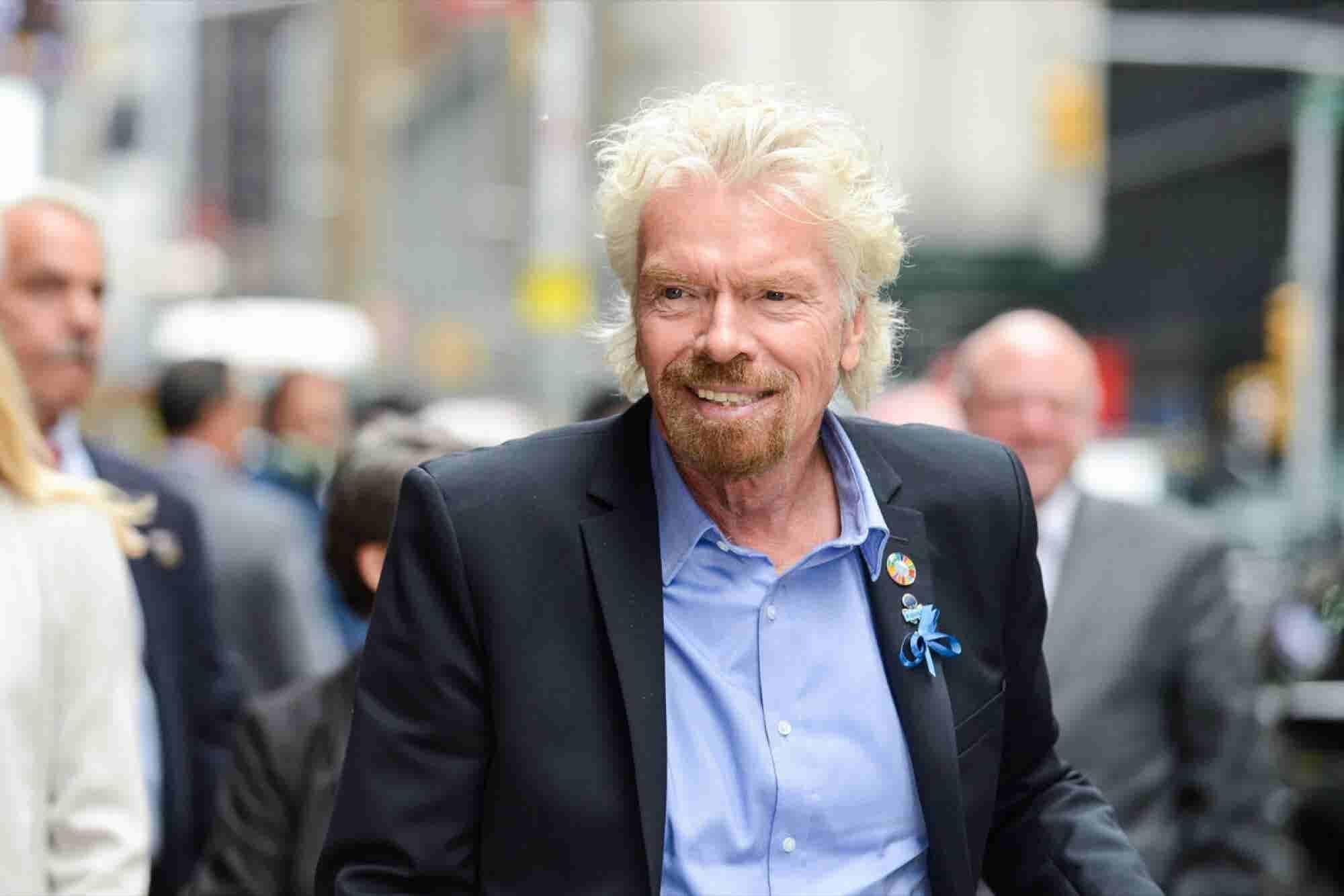 How Richard Branson Built His $5 Billion Fortune
