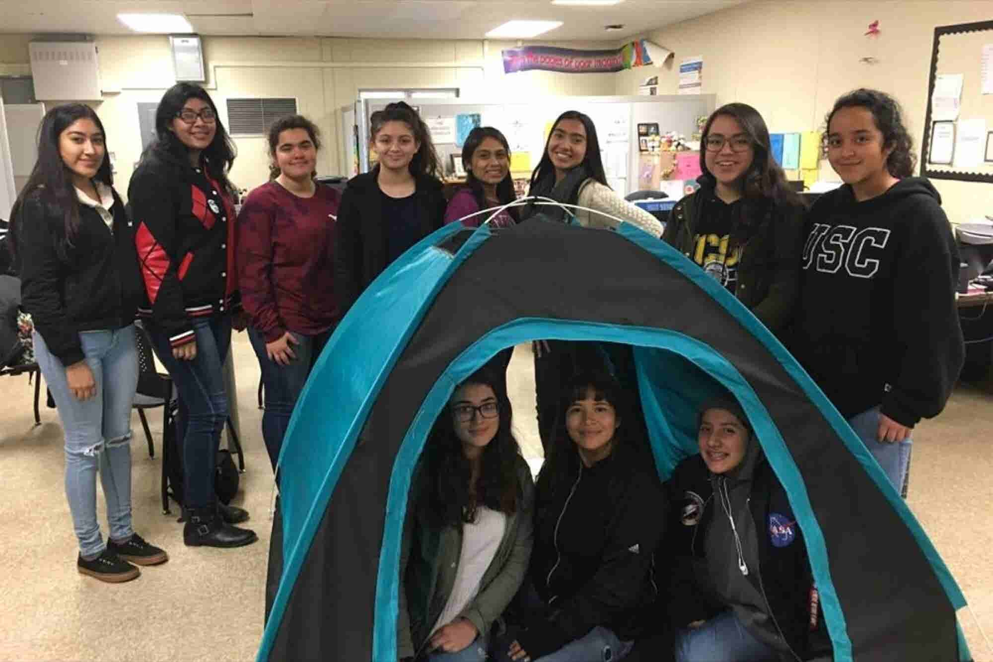 These Inspiring Teen Girls Invented a Solar-Powered Housing Solution for the Homeless -- Now They Are Presenting Their Work at MIT