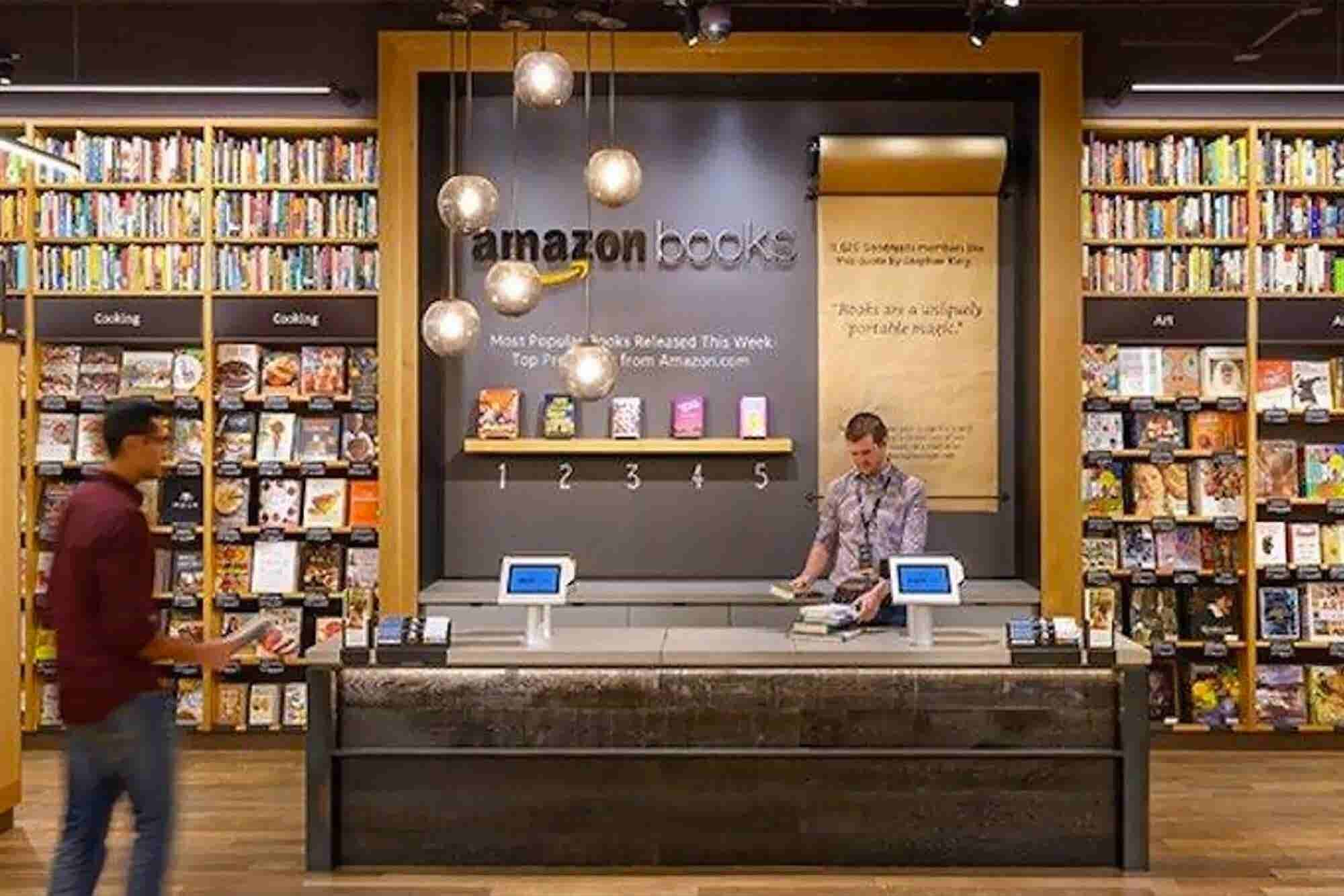Amazon Patents Tech to Block In-Store Comparison Shopping