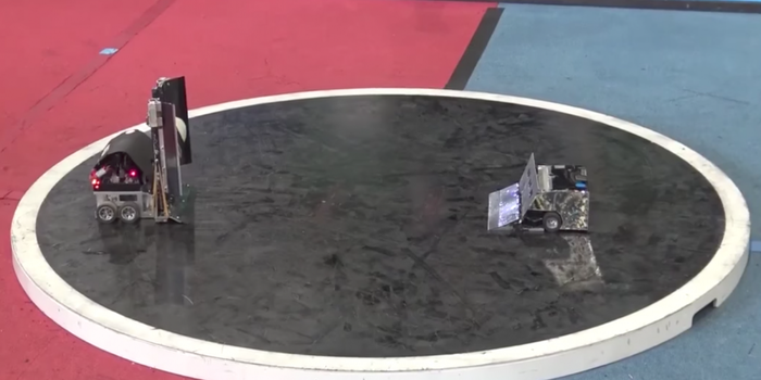 Watch These Sumo Wrestling Robots Battle It Out