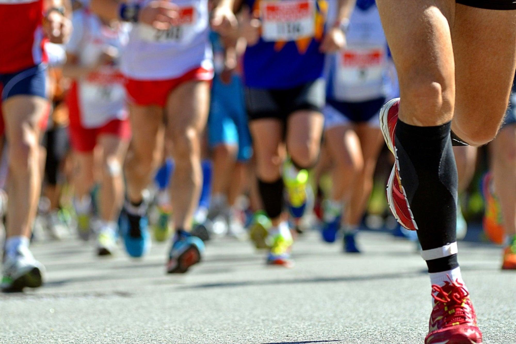 Painfully marathon