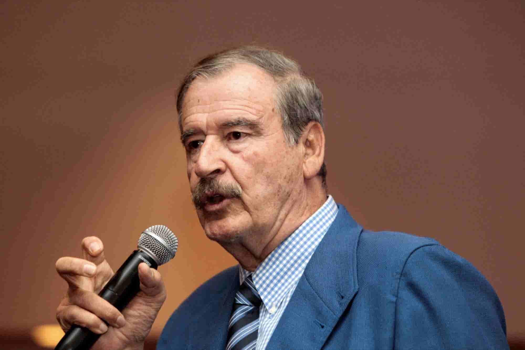 México puede llegar tarde a la fiesta de la marihuana: Vicente Fox
