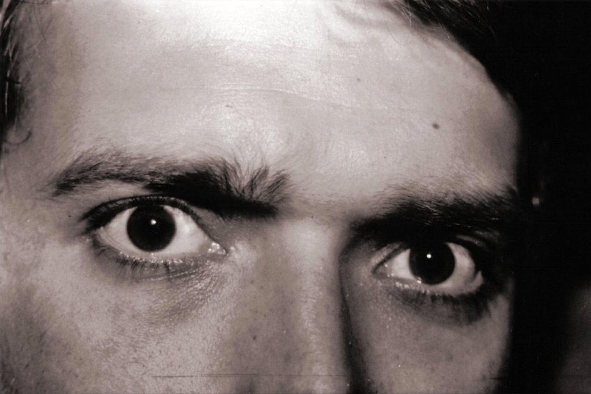 Green eyes intimidating people
