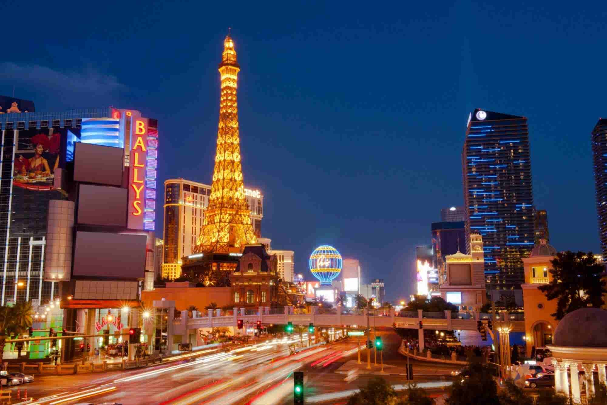 Sorry, But No You Can't Smoke Marijuana on the Las Vegas Strip Yet.