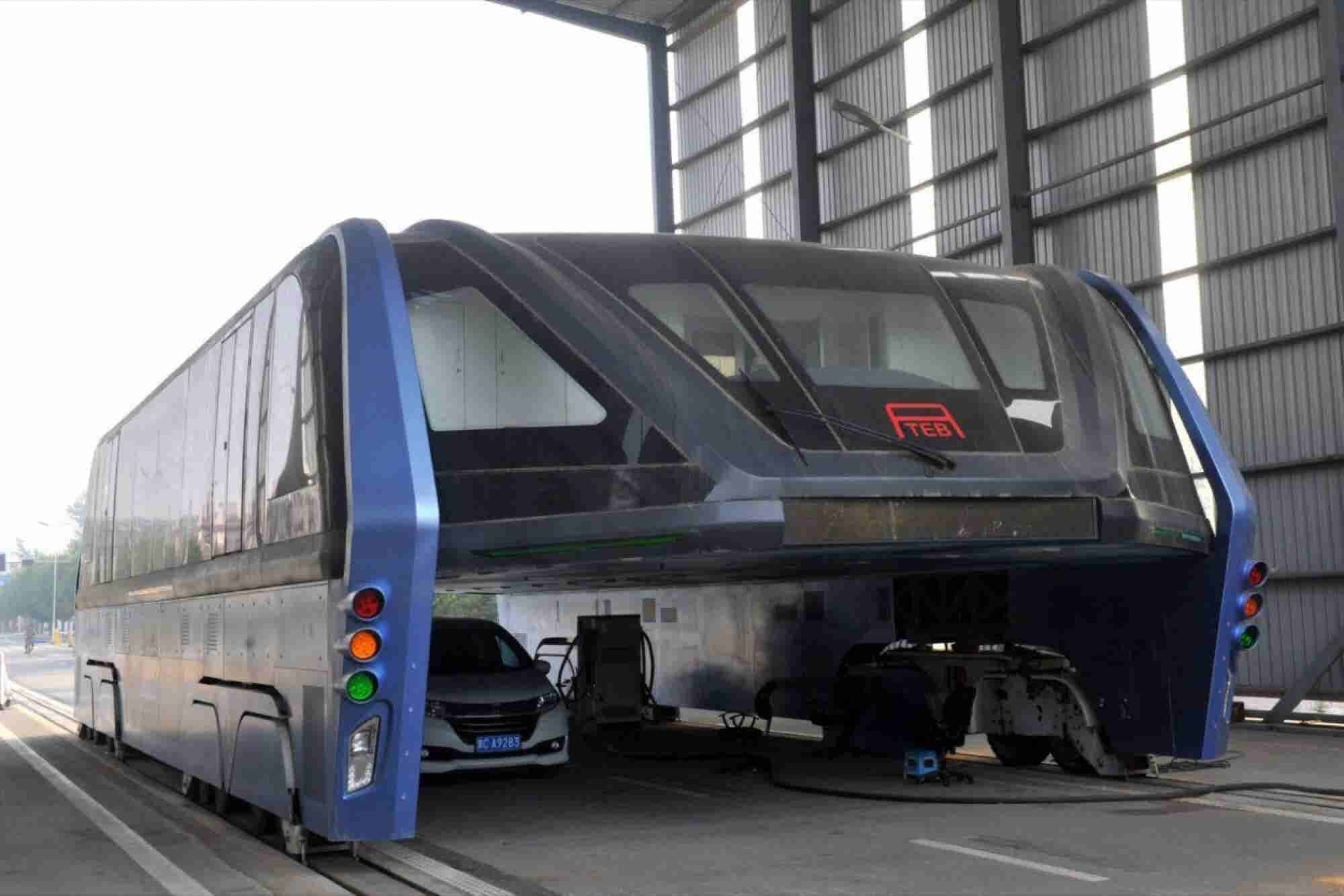China's 'Elevated' Bus Was a Scam After All