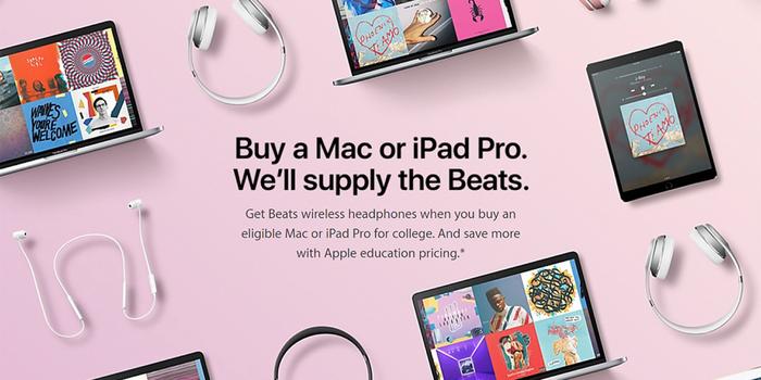 Apple Back-to-School Deals Include Free Beats Gear