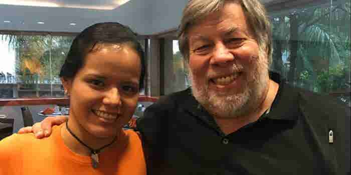 La mexicana que 'encantó' a Steve Wozniak