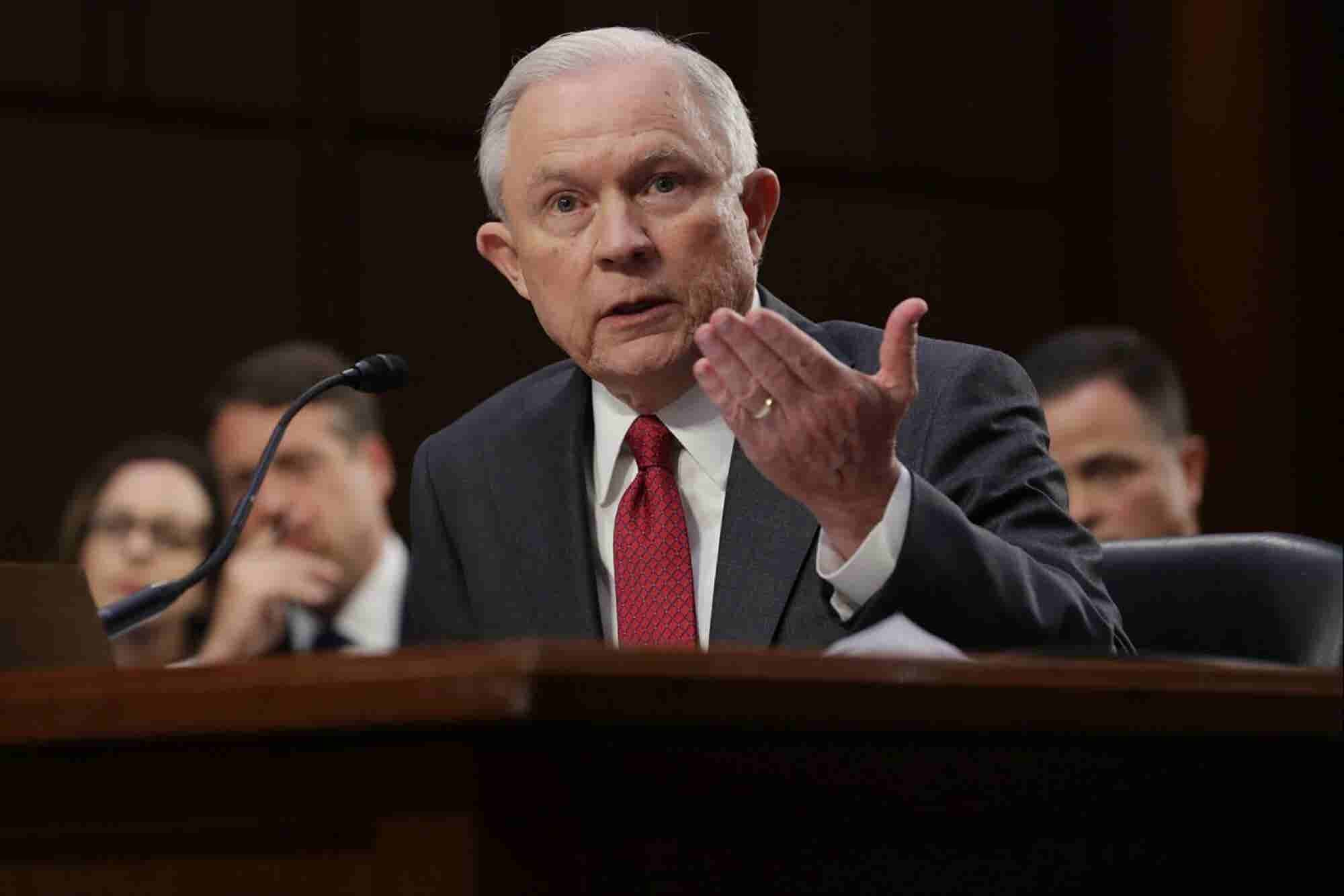 Somebody Needs to Tell Jeff Sessions That Legalized Marijuana Does Not Cause More Crime