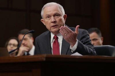 Somebody Needs to Tell Jeff Sessions That Legalized Marijuana Does Not...