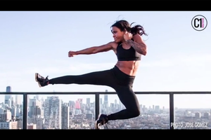 How This Fitness Trainer and Stuntwoman Built Her Online Following