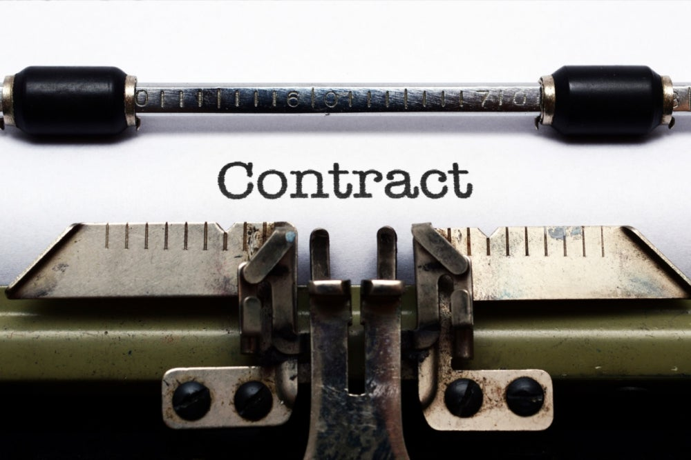 Win a government contract