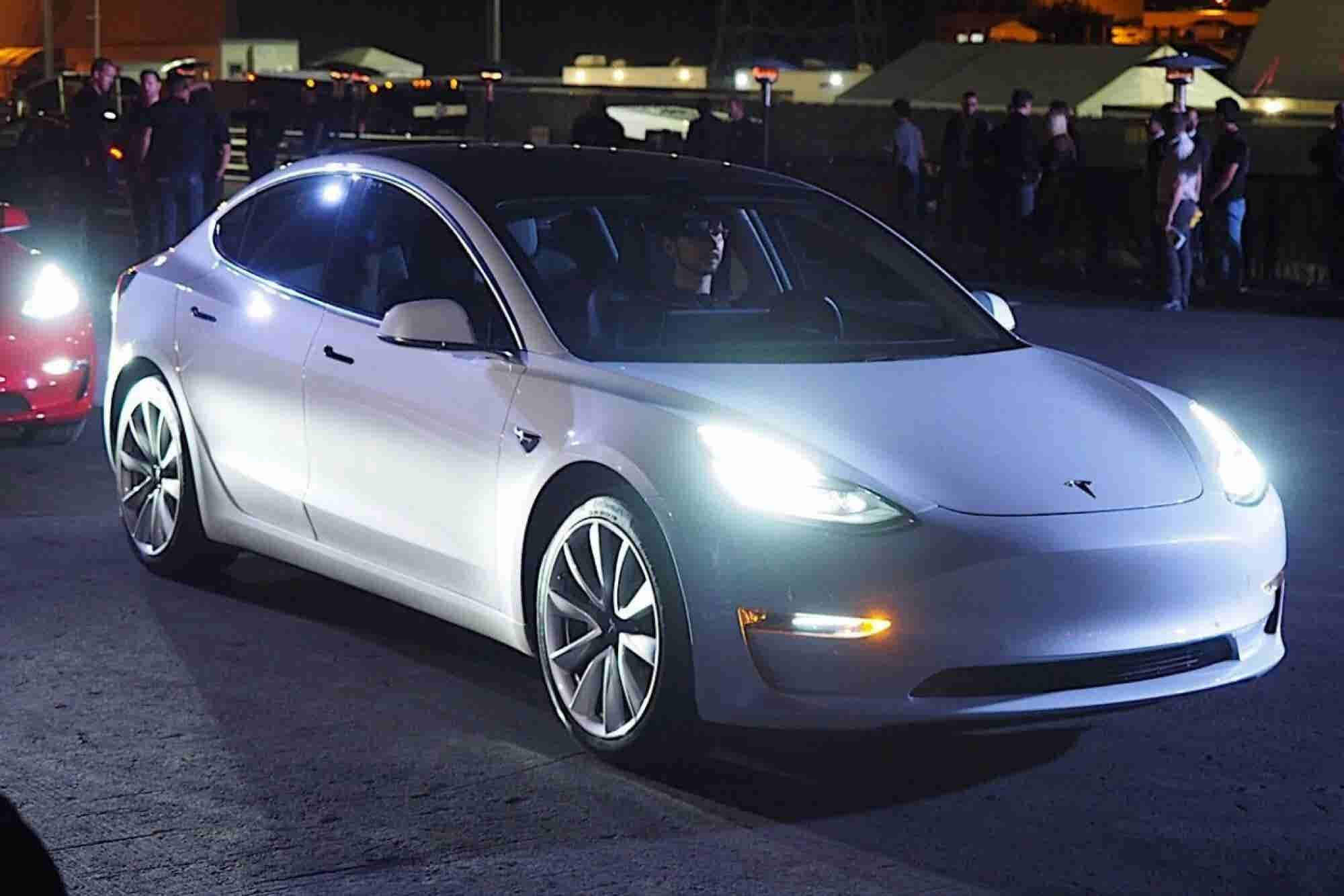 I Took a Ride in Tesla's New Model 3