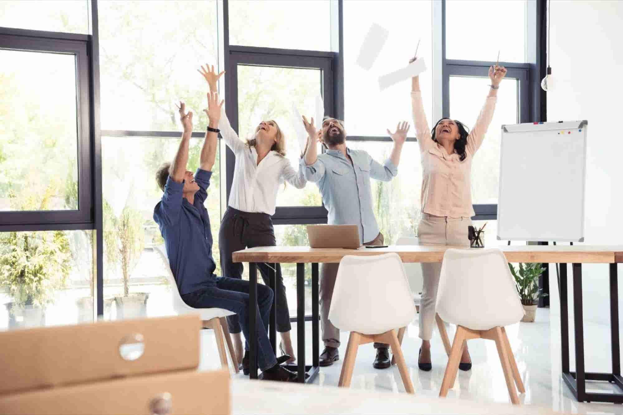 La felicidad en el trabajo sí existe