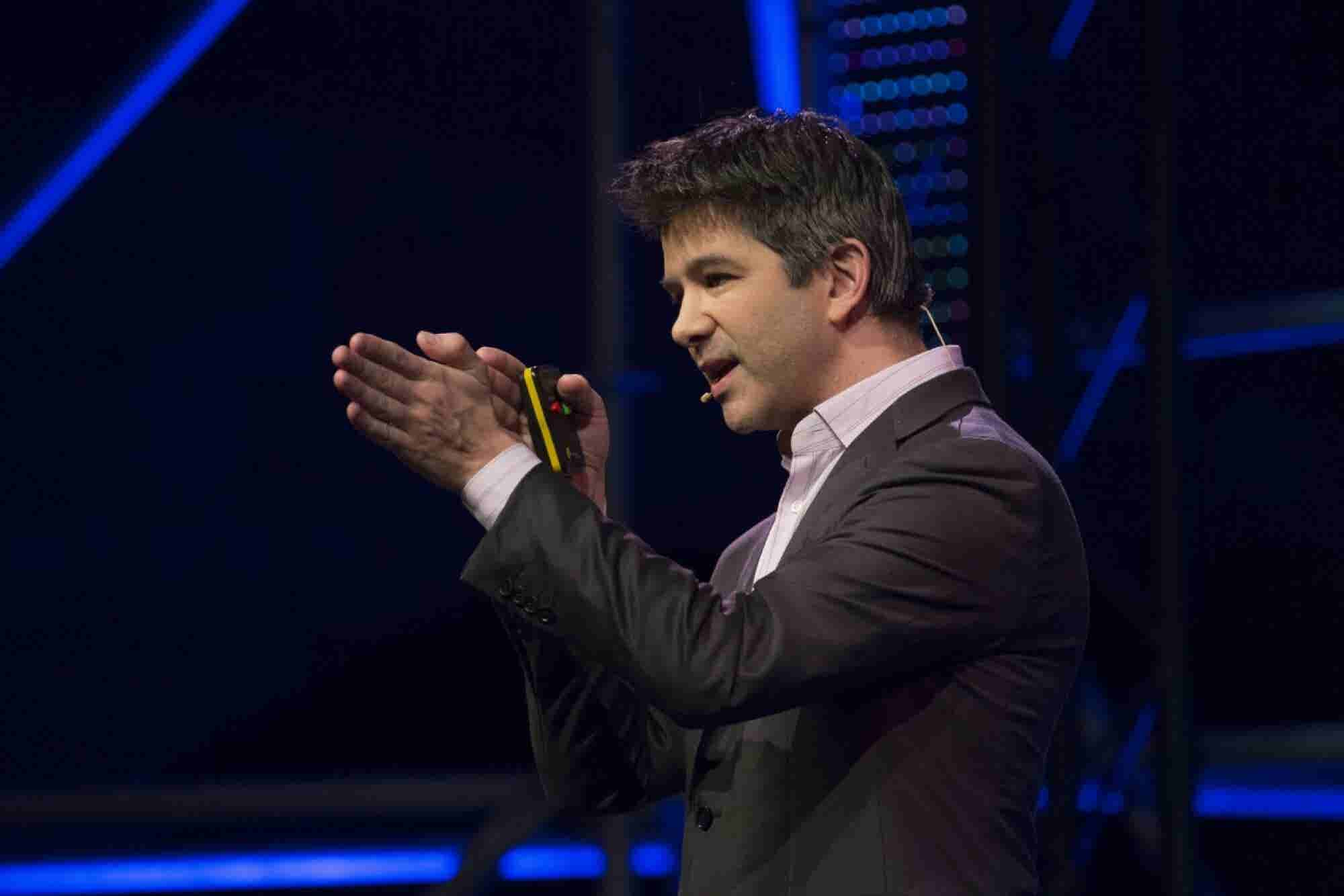 16 Weird Things We've Learned About Uber's Billionaire Co-Founder Trav...