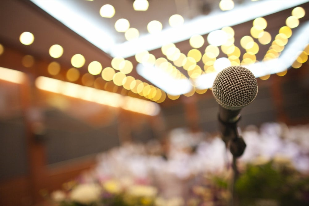 Sing in public