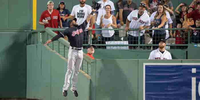 Get Inspired Right Now -- Watch 'The Catch of The Year' Austin Jackson Made Last Night
