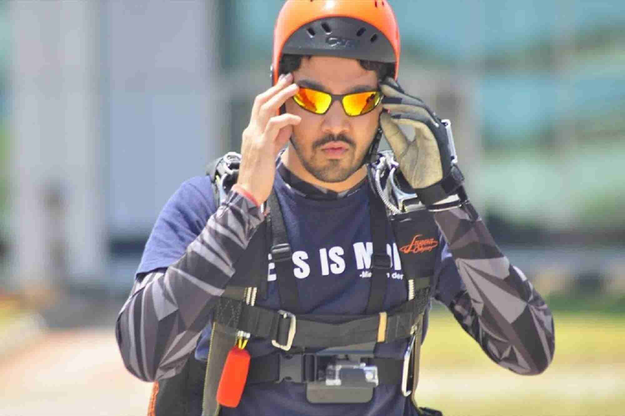 This Entrepreneur Flew the Globe to Bring Skydiving to India