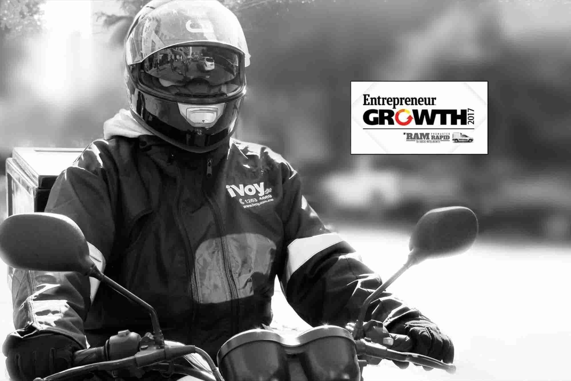 Growth 2017: Ellos crearon el Uber de la paquetería en moto